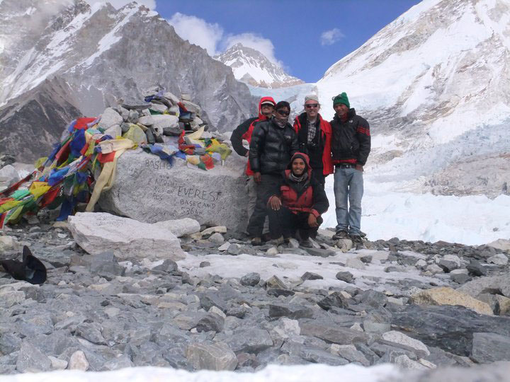 Everest Base Camp guide/porters