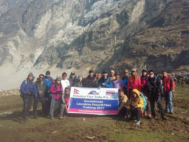 Langtang valley trek with kids