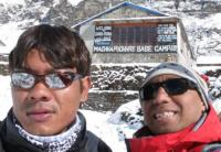Image of MBC during the Annapurna Base camp Trkking