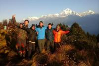 Annapurna Sunrise View Image