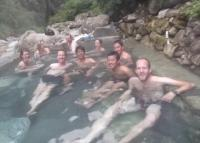 Jinuwa danda hot spring,that was really good after done Annapurna base camp Trekking