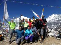 Langtang Lirung Picture with Germany Group